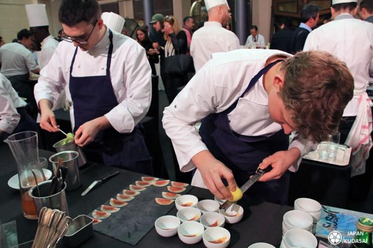 Chef étoilés au salon JETRO 2018