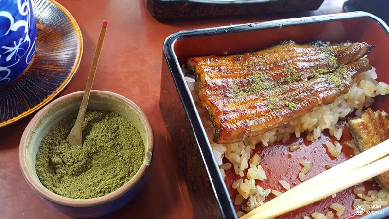 anguille unagi et poivre vert citronné budo sansho de wakayama