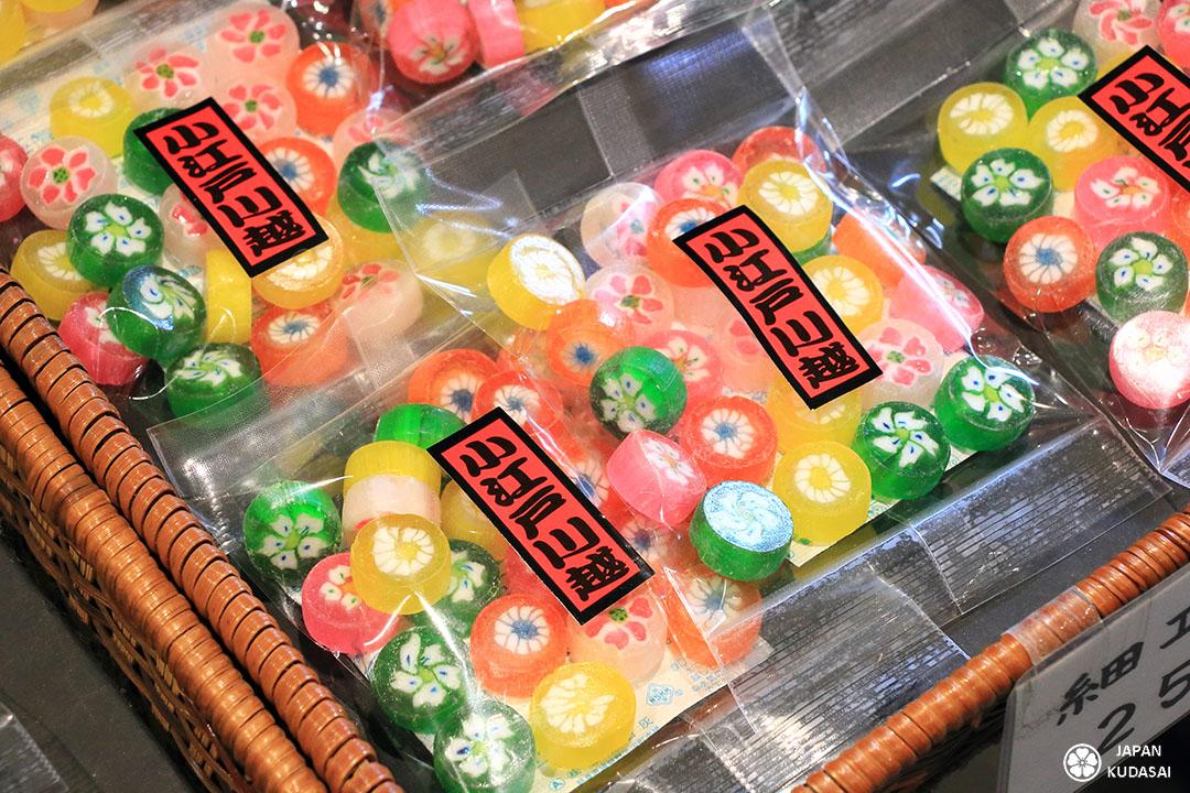 bonbons et confiseries à kawagoe