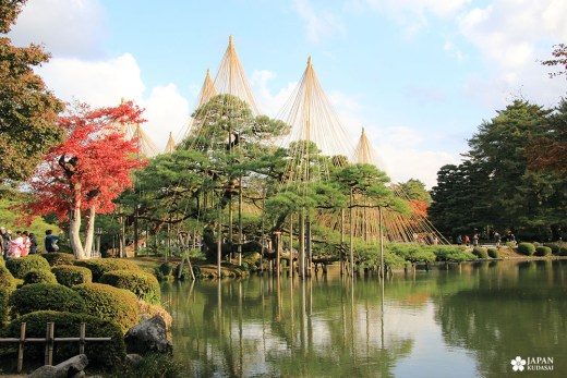 jardin japonais traditionnel kenrokuen kanazawa