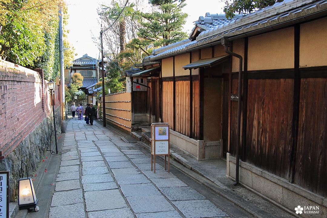 ruelle typique higashiyama proche kodai ji