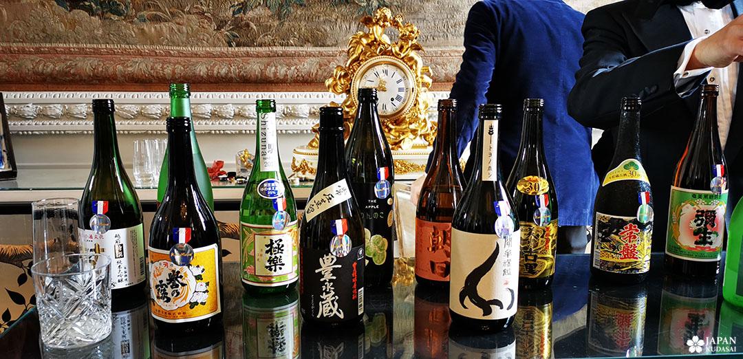 sakés médaillés hotel de crillon xavier thuizat concours