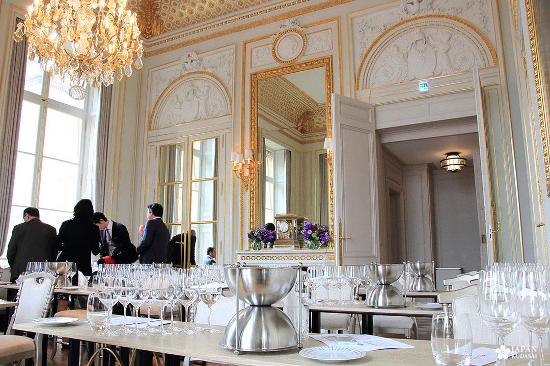 saké hotel de crillon concorde paris