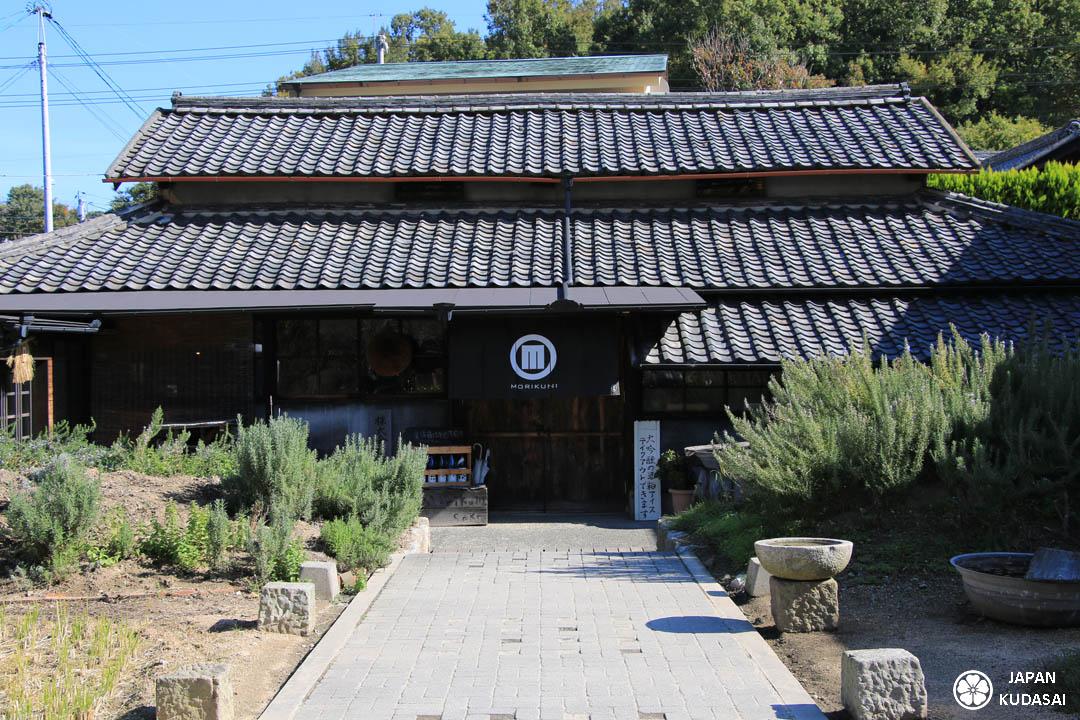 La brasserie de saké Morikuni est la seule de Shodoshima.