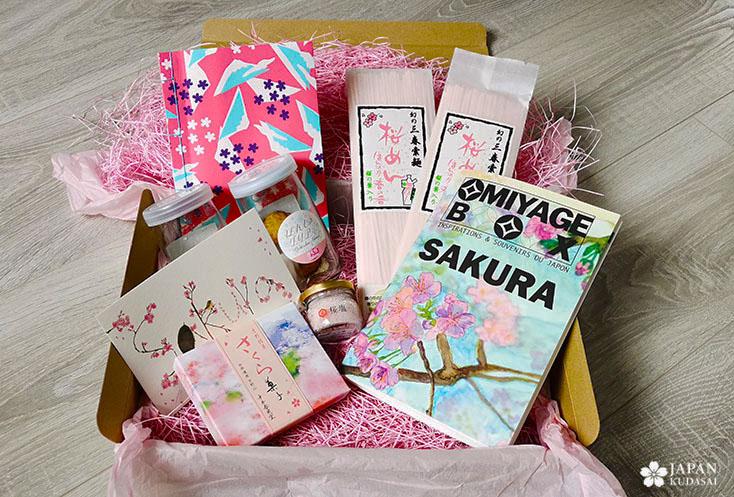 omiyage box sakura edition
