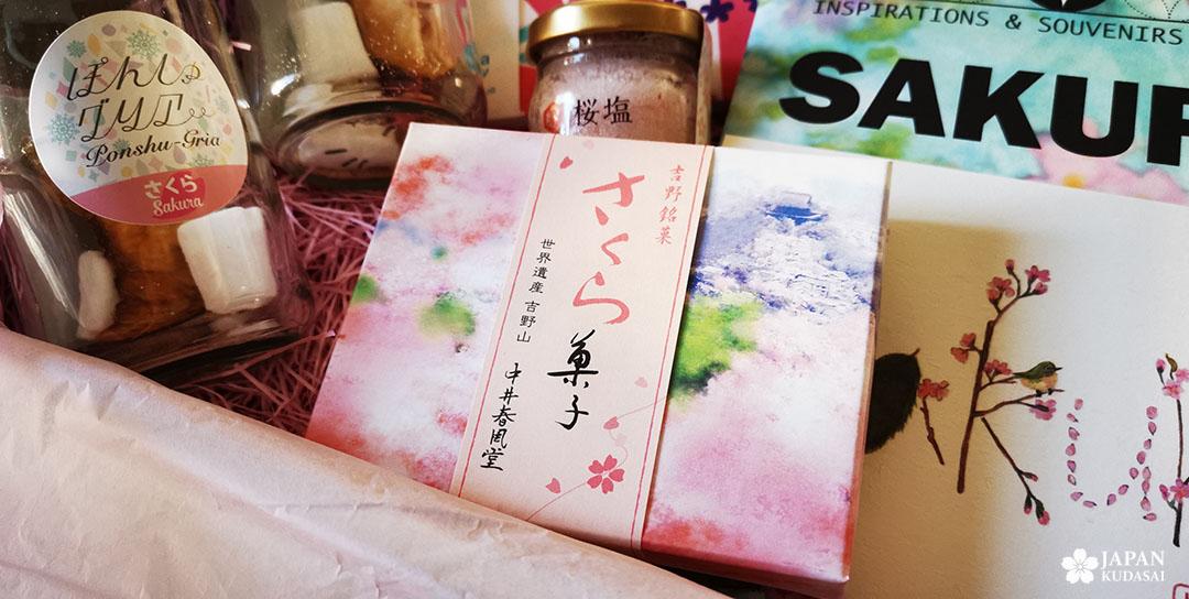 boîte bonbon kuzu yoshino pour accompagner le thé