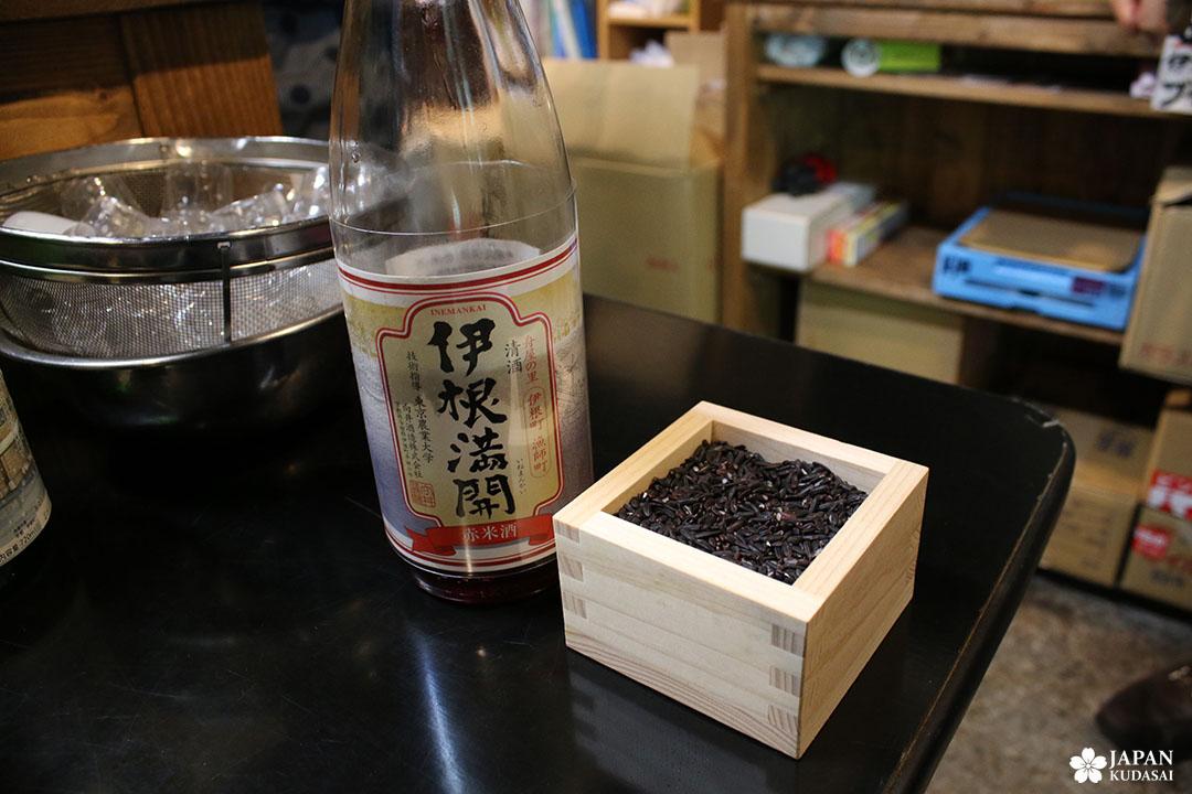 sake brewery ine