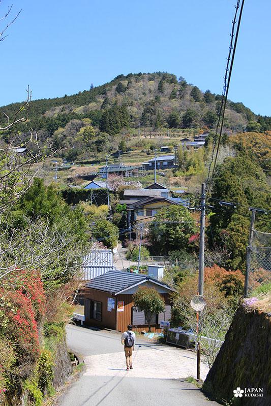 Arrivée au hameau de Takahara