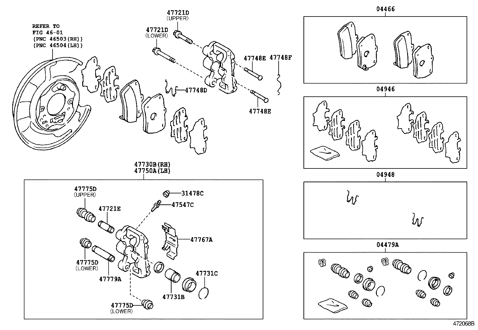 Toyota Rav4 Parts Diagram Front