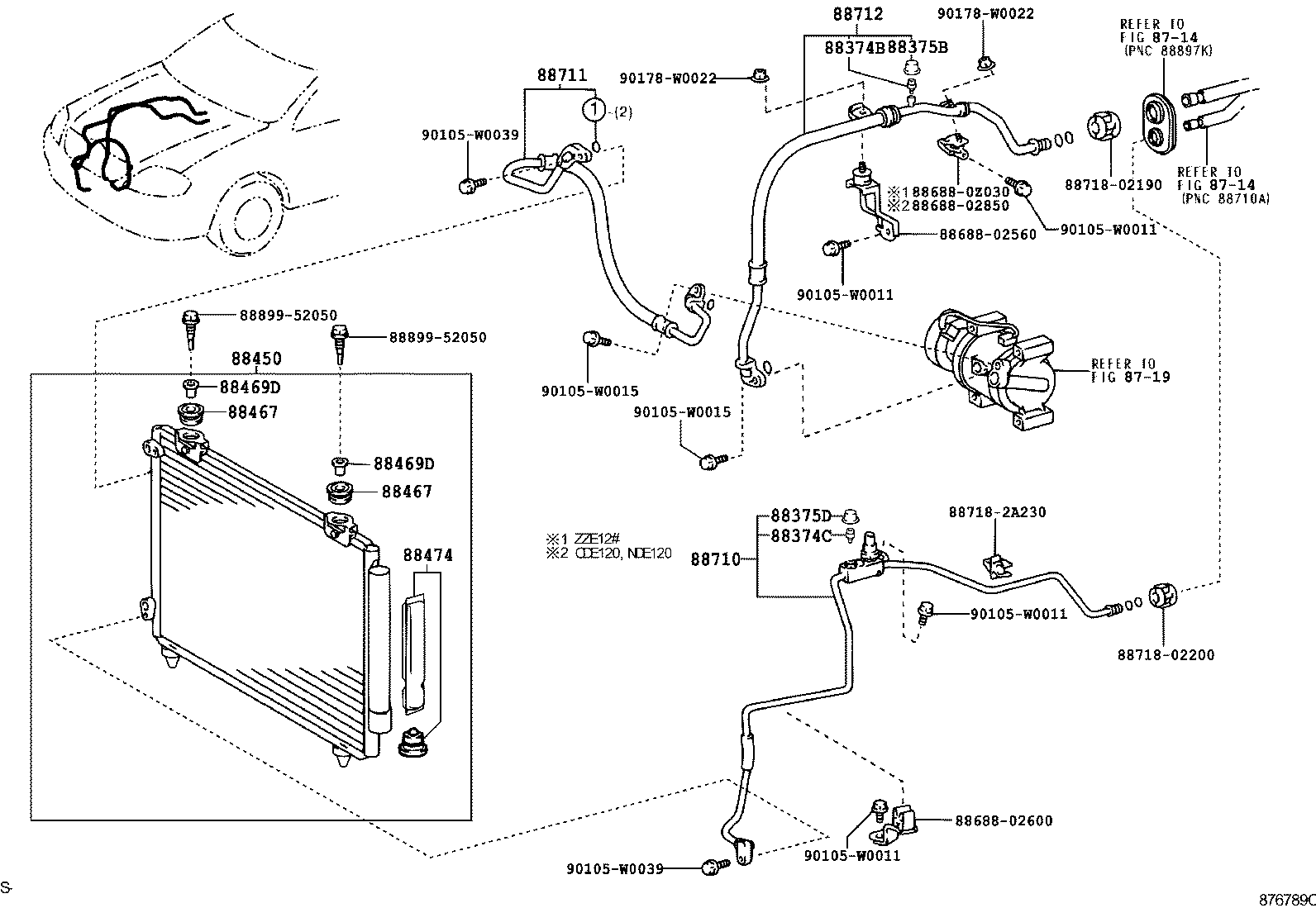 Toyota Celica Diagram Lube