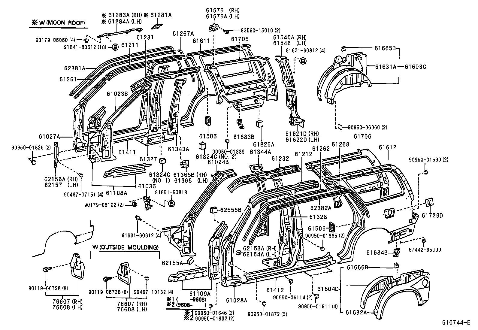 Toyota 4runnerrzn180l Gkmska