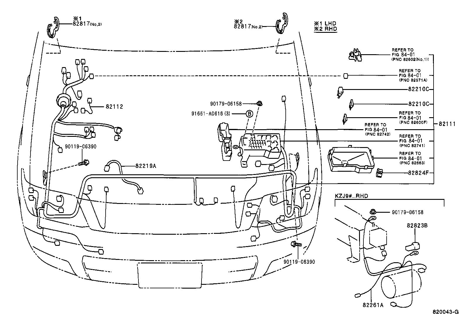 Toyota Land Cruiser 90kzj95r Gkmntw