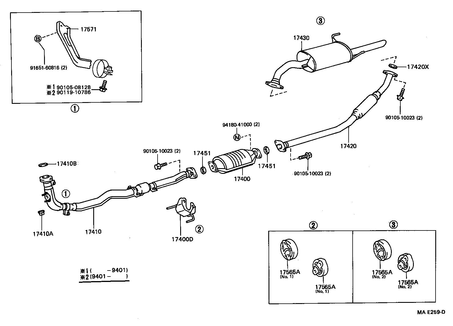 Toyotum Tercel Engine Diagram