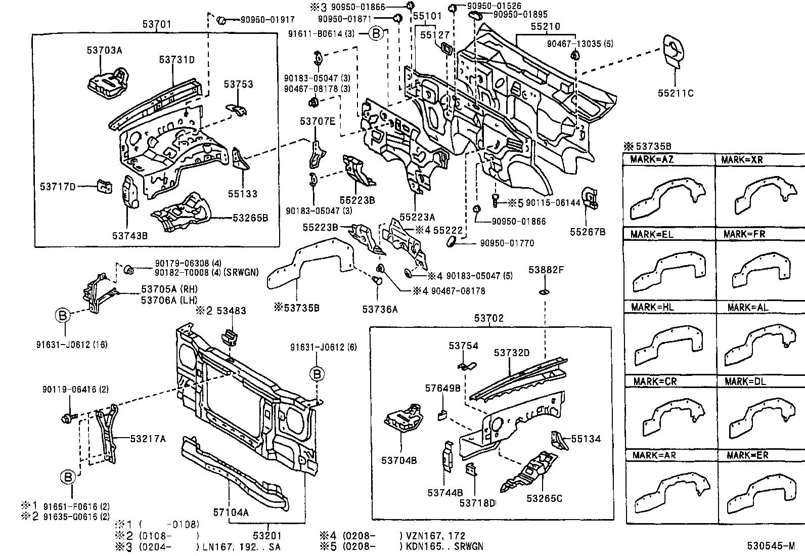 Toyota Hiluxrzn169r Jrmdkq