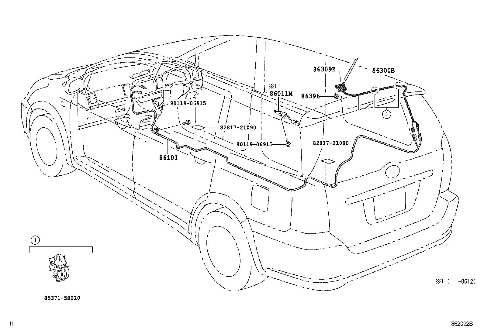 Toyota Wishane11r Jppqkt