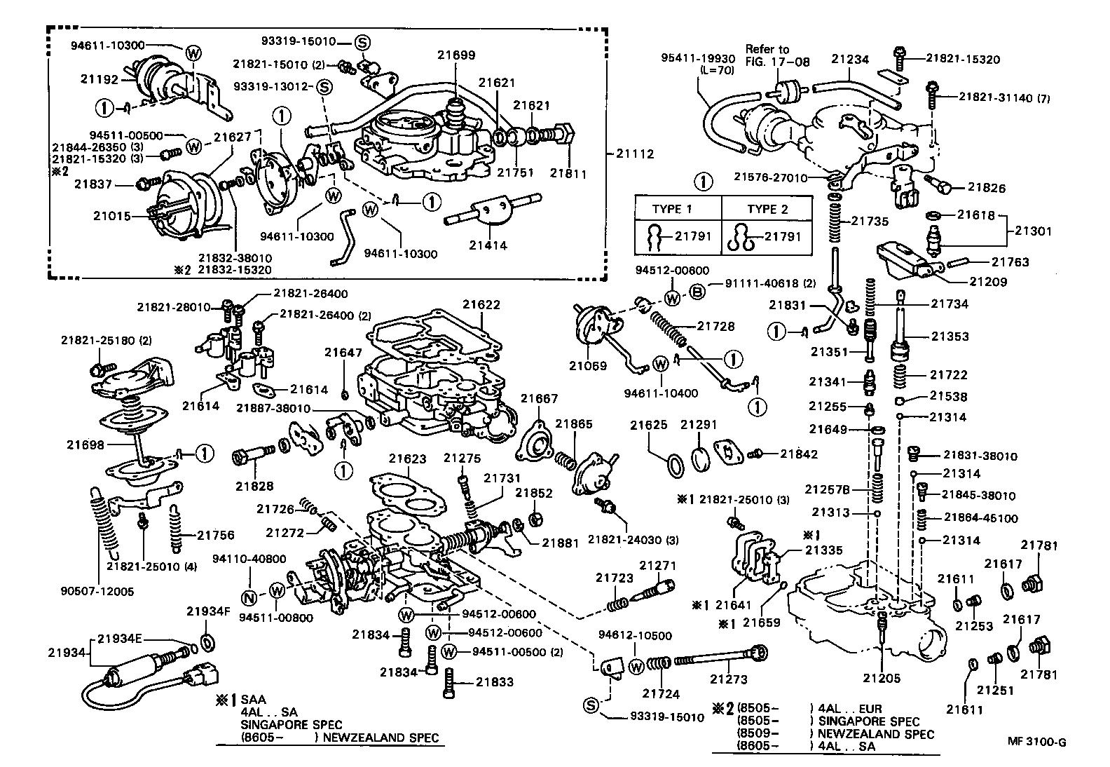 Toyota Celica Engine