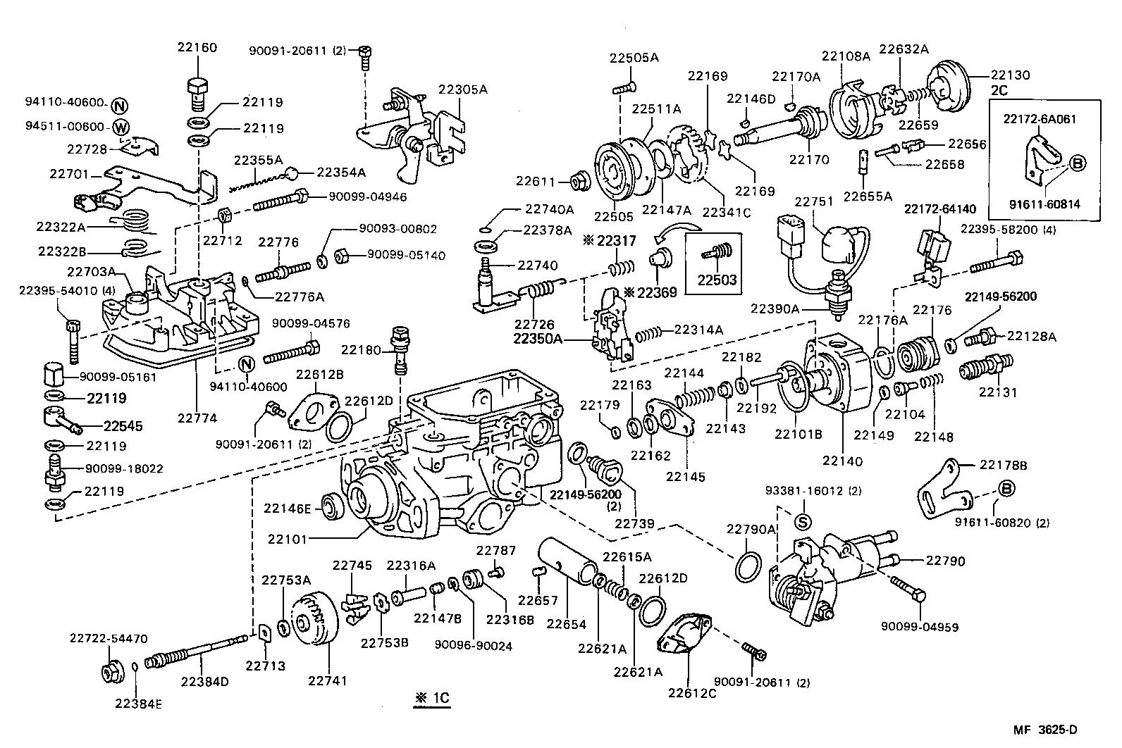 Toyota Liteacecm35lv Kr