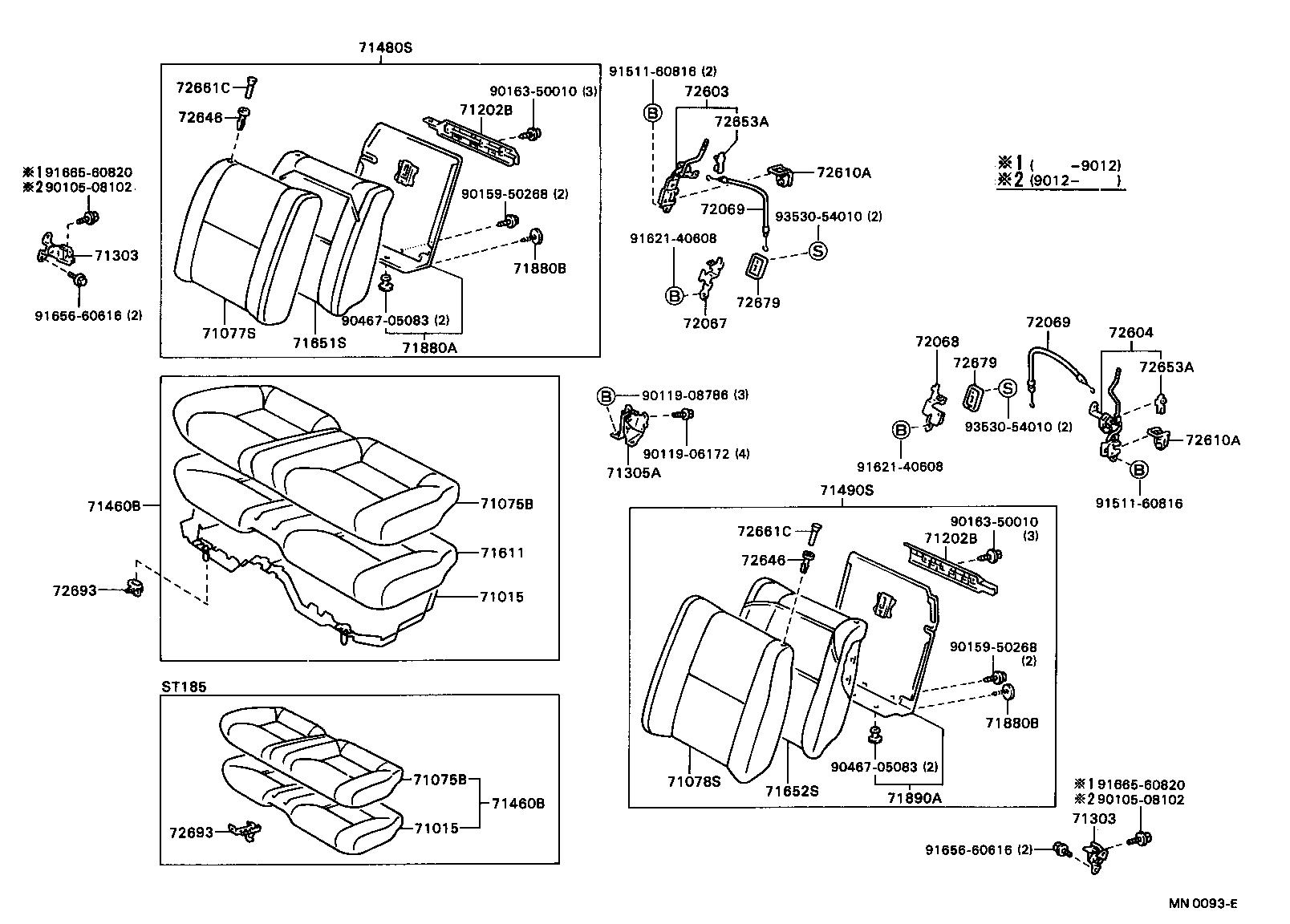 Toyota Celicast185 Blmvz