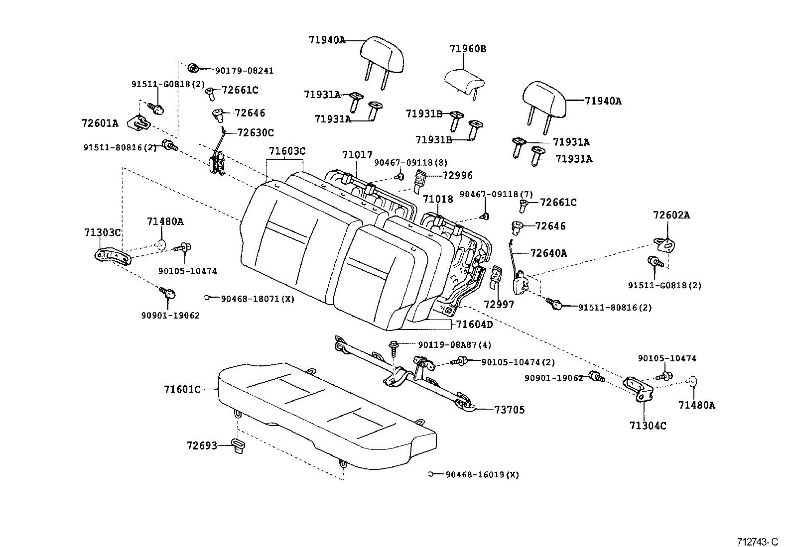 Toyota Scion Xbncp31l Dhpnka