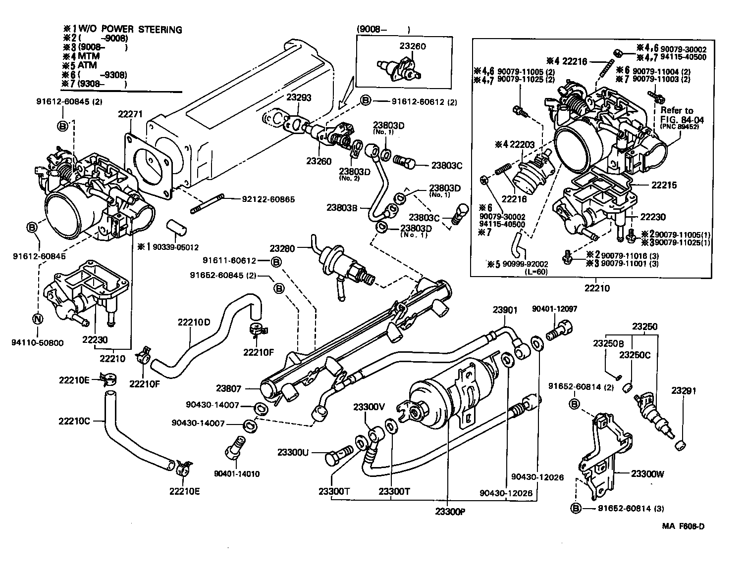 1986 Toyota 4runner Engine Wiring