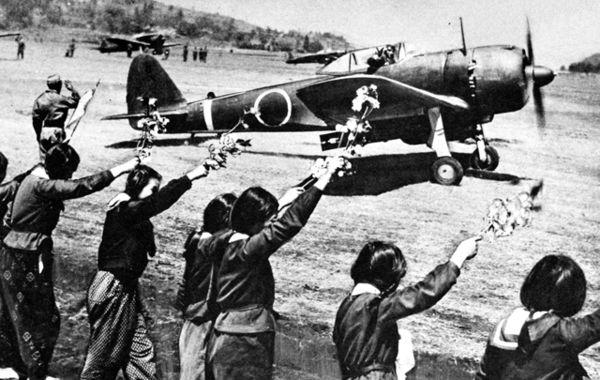 kamikaze pilot and sakura