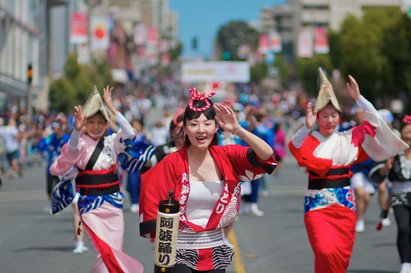 northern california cherry blossom festival dance