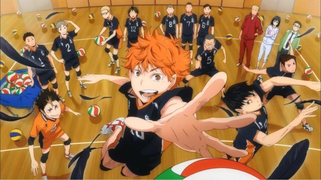 Anime sur le volley ball - haikyuu : les as du volley-ball!!