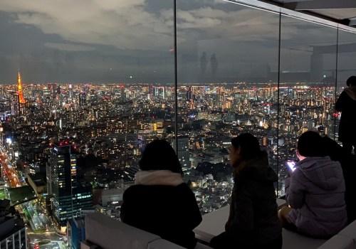 Shibuya Night Sky