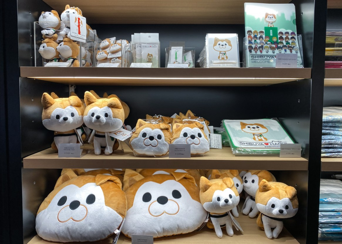 SHIBUYA LOVE HACHI: The official character of Shibuya City Tourism Association