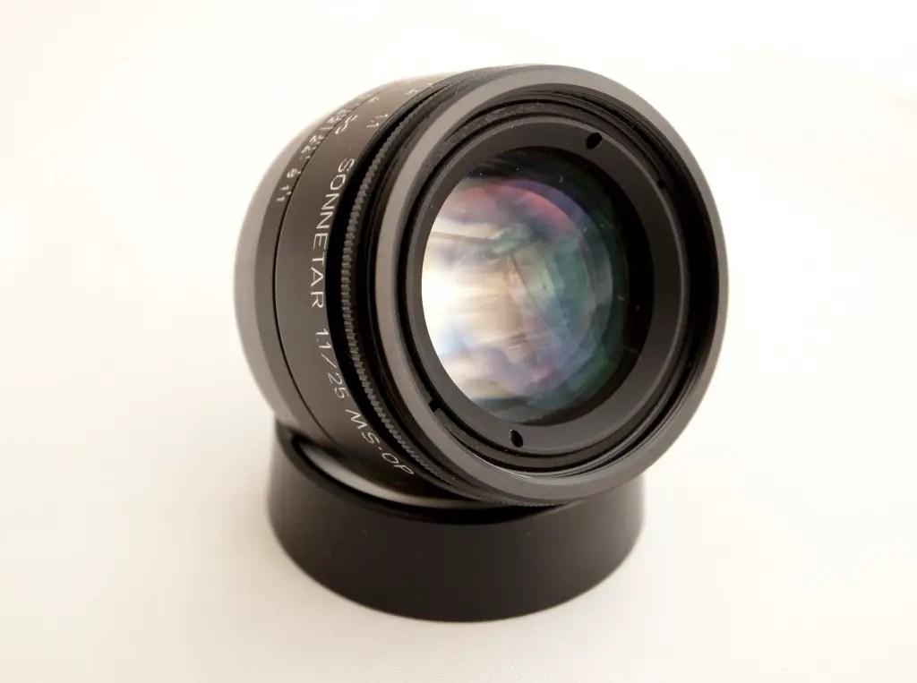 Sonnetar 25mm F/1.1
