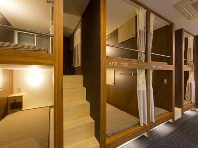 A Stay in a Capsule Hotel