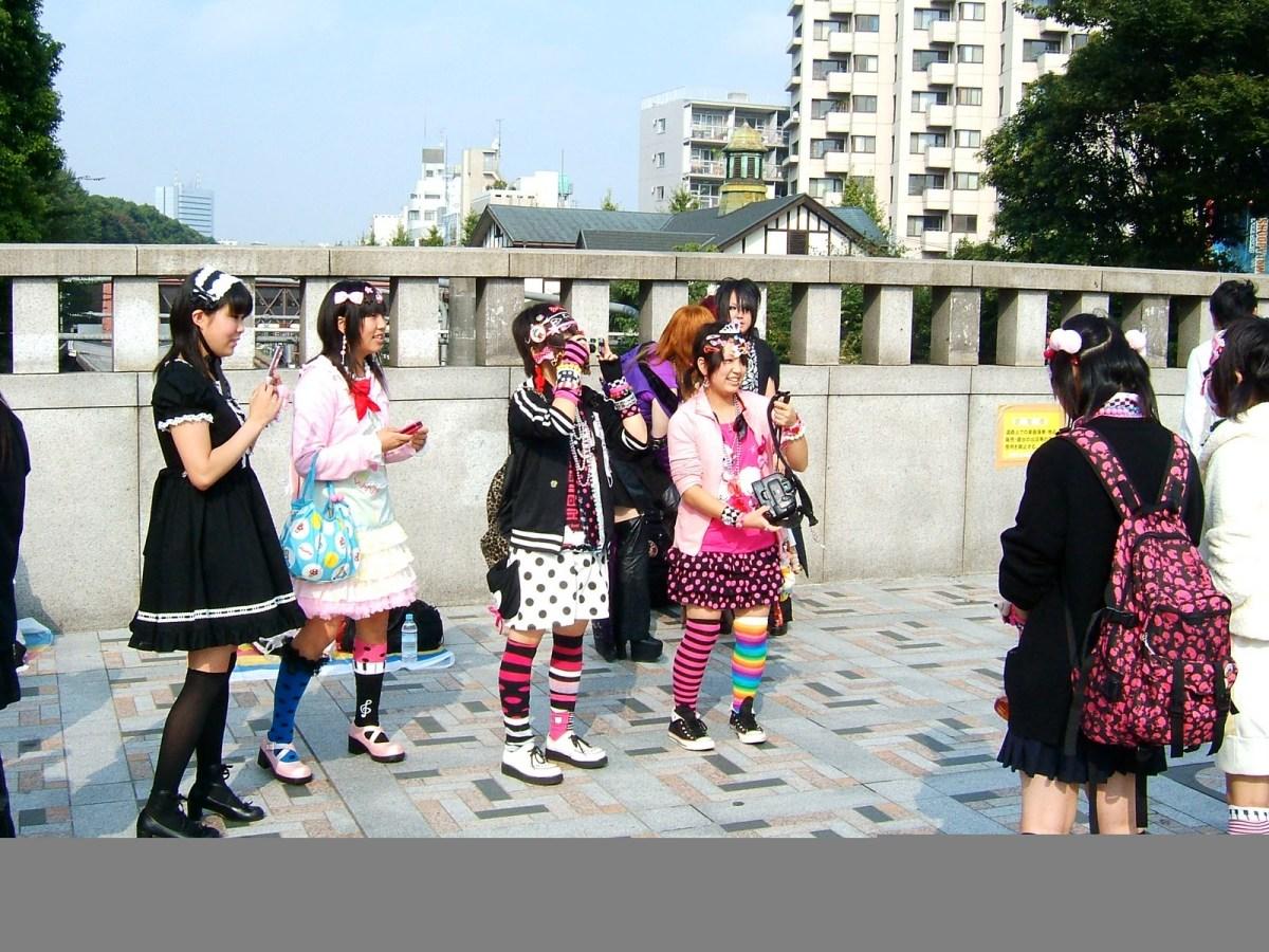 Harajuku Fashion - Kumamiki