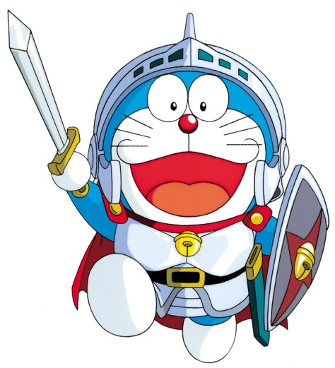 doraemon_in_shining_armor