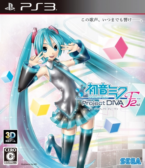 Hatsune Miku Project Diva F 2nd PS3 version