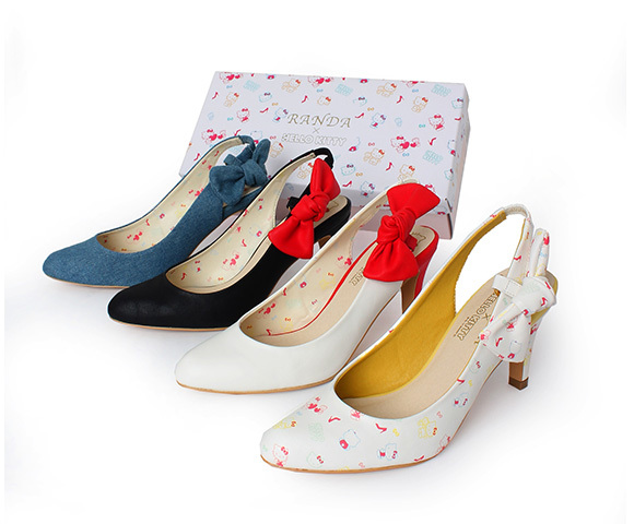 7,490 yen. Hello Kitty pumps. How awesome are these??