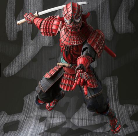 samurai spidey 8