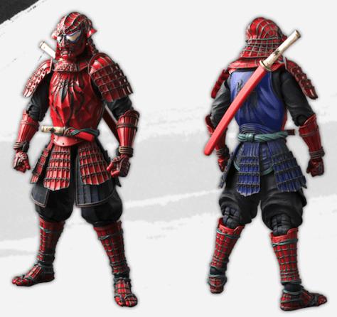 samurai spidey 9
