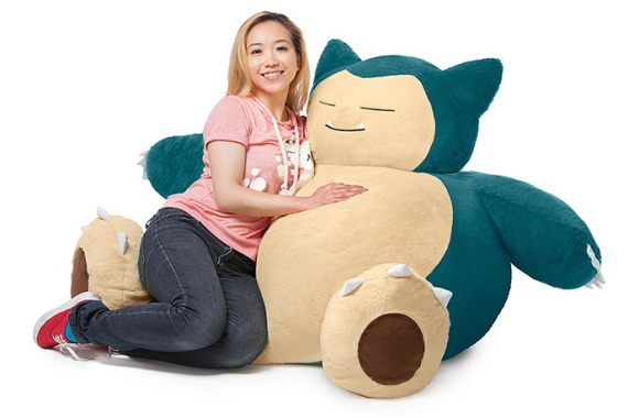 snorlax bean bag1