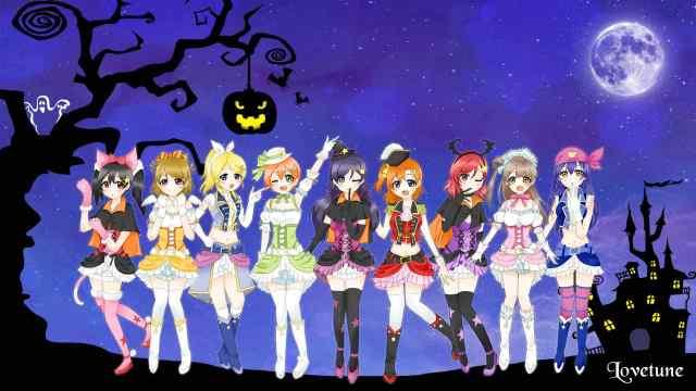 love-live-halloween