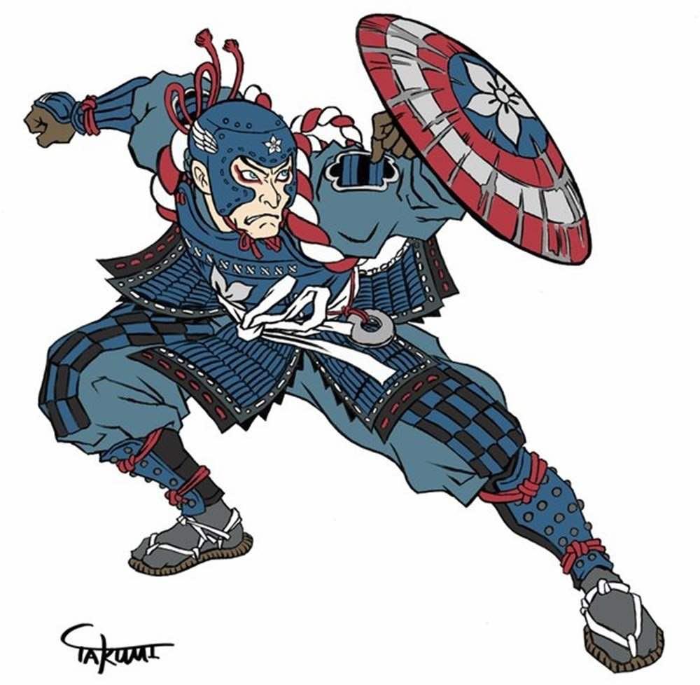Samurai Captain America