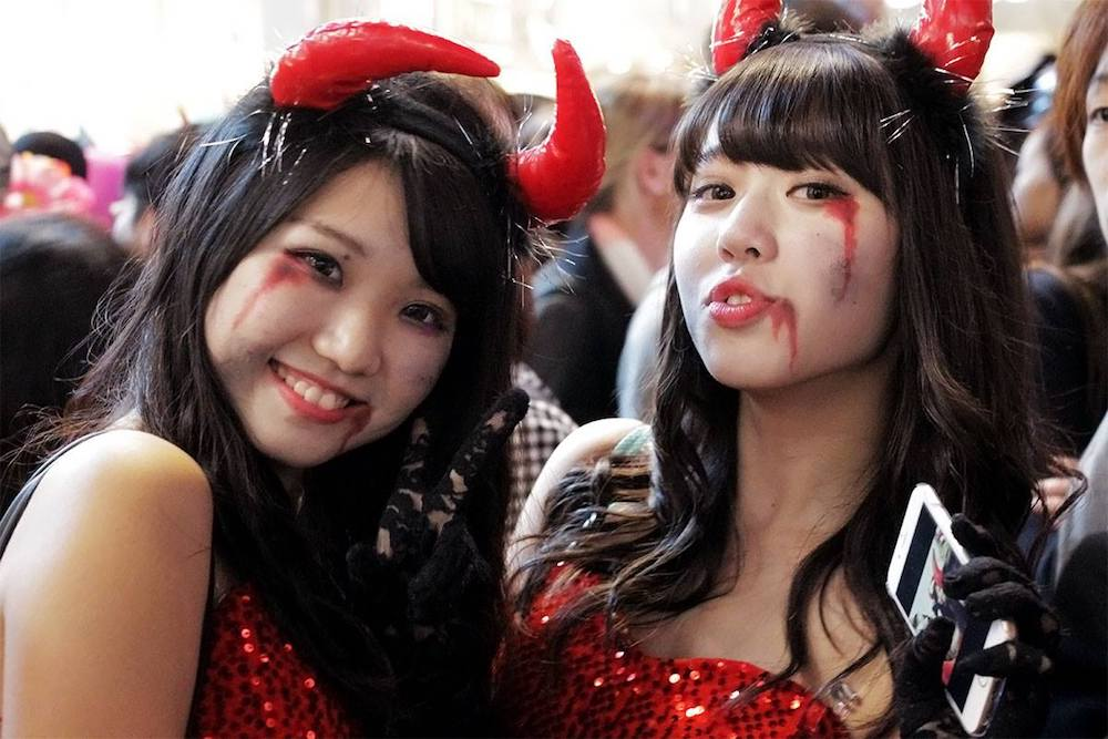 Top Ten Places For Halloween In Japan