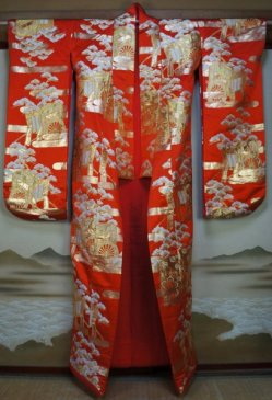 Uchikake kimono 1980