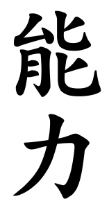 Japanese Word for Ability