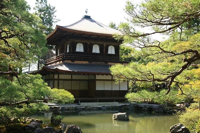 Ginkakuji – Silverpaviljongen