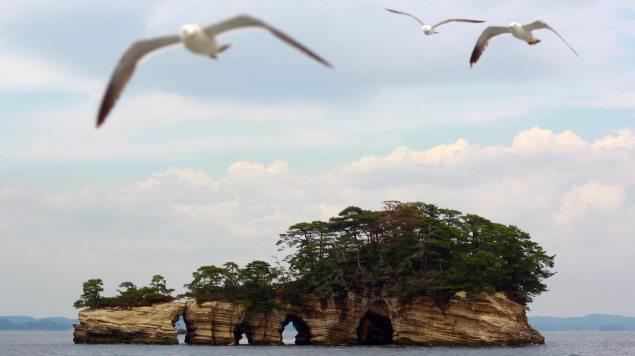 En av Matsushimas öar