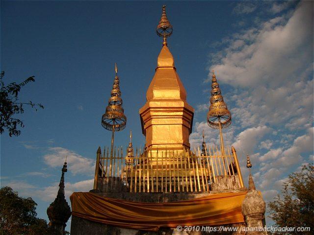 ルアンパバーンの仏塔