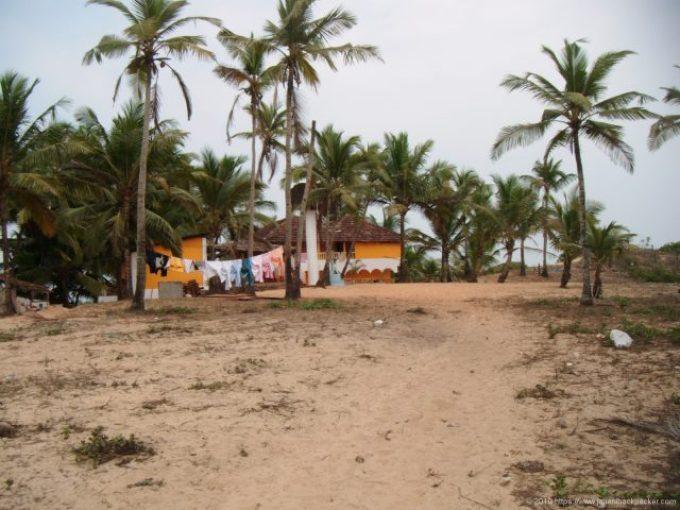 コヴァーラムビーチの宿