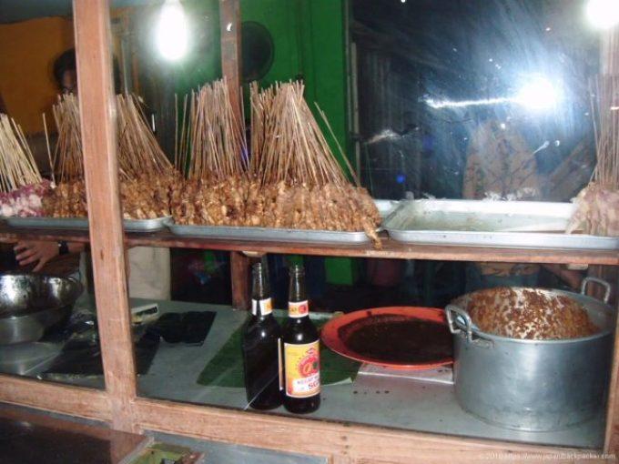インドネシアのサテ屋