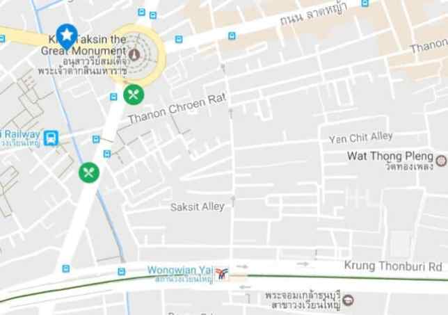 Baanyai Apartment 地図