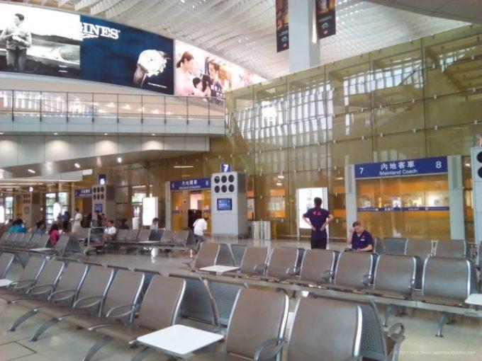香港空港スカイリモの待合